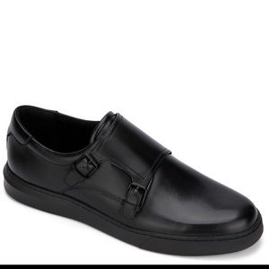 NIB Kenneth Cole Mens Liam Monk strap shoes sz 8.5